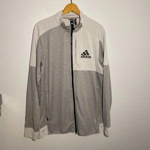 Men's adidas Bomber Jacket.  Full Zip, Large